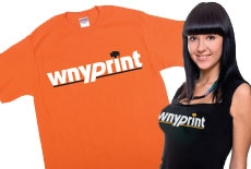 PRINTED T-SHIRTS AND APPAREL