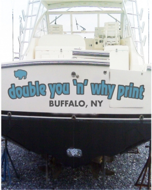 Boat and Watercraft Names, ID Numbers and Full color boat Wraps