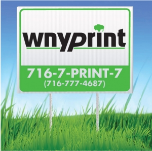 Company Lawn Signs